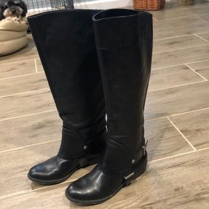 7 for all Mankind leather boots